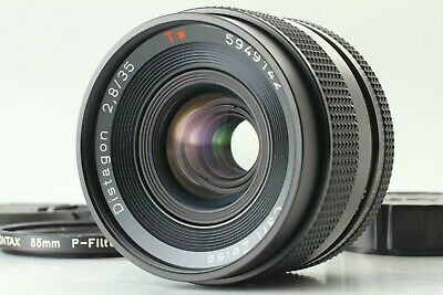 【 MINT 】Contax Carl Zeiss Distagon T* 35mm f2.8 MF Wide Lens AEJ From JAPAN #182