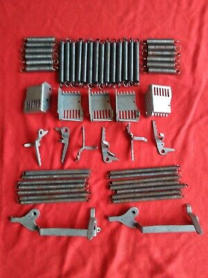 "Mills Slot Machine Parts, Springs, Coin Slots, Brake Levers, Lock Levers, ""Look"""