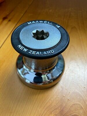 NOS Vintage Maxwell Size 14 Sailing Single Speed Winch Excellent!
