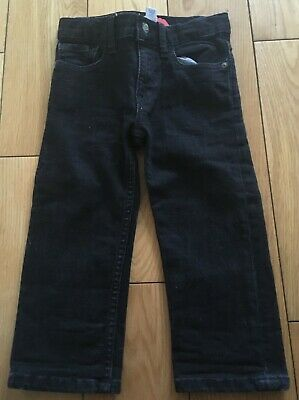 Baby Boys Black GAP Jeans Size 2 Years