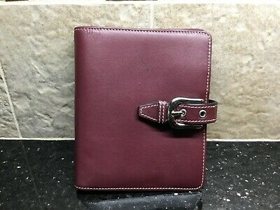 Franklin Covey Leather Wallet / Card Holder/ Notepad