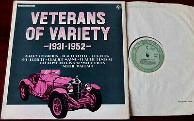Veterans Of Variety1931-52 Music Hall Lp Wrc (1980) Nm- Elen Terriss Elliott