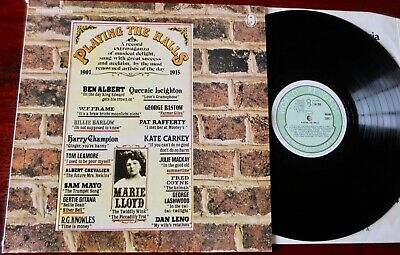 V/Artists Playing The Halls Music Hall Lp Wrc (1979) Nm Chevalier Mayo 1903-1915