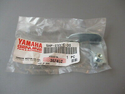 PLATE 1982 YZ250 YAMAHA OEM           CABLE GUIDE STAY RARE NOS PART