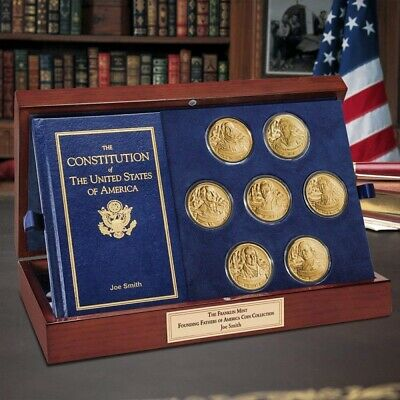 Founding Fathers of America Coin Collection- The Franklin Mint BRAND NEW