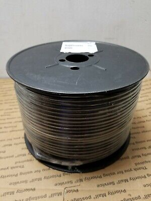500 FT PPC CATV RG6 Cable SATELLITE BLACK Coaxial 3GHz P6T77VVBFC PERFECT FLEX