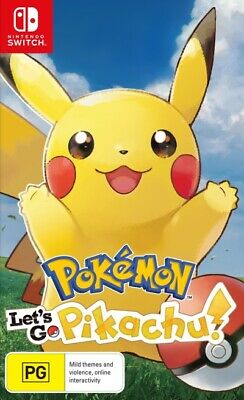 Pokemon Lets Go Pikachu  - Other game - BRAND NEW