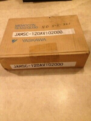 Yaskawa Jamsc-120Avi02000 Analog Input Module Memocon Sealed Box New