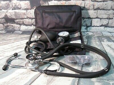 Prestige Medical Artery Sphygmomanometer & Stethoscope with Case - Black