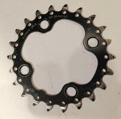 NEW Shimano SLX FC-M660//M665 Replacement Inner Chainring MTB 64 BCD x 22T Black