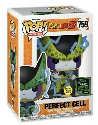 Funko Pop! Perfect Cell GITD 2020 ECCC Shared Exclusive DBZ Preorder