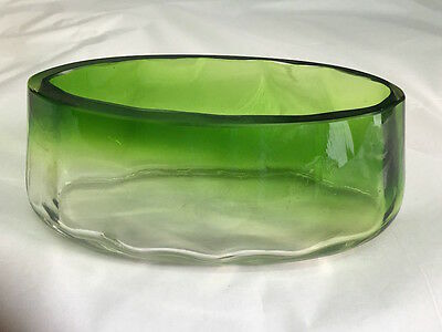Planter Vintage Glass Years 70
