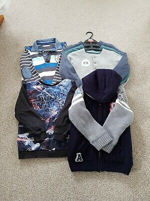 Boys Childrens Kids Winter Spring Clothes Bundle Age 6-7 Years