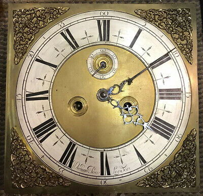 Early Antique 8 Day Longcase Clock Movement Signed W Pain London