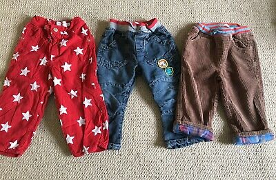 Boys Trouser Bundle Boden Toby Toger 2-3 Years