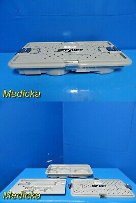Stryker Endoscopy 233-032-107 Camera Sterilization Case W/ Removable Tray ~20988