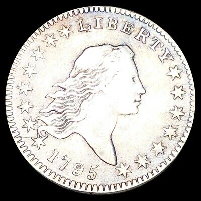 1795 Flowing Hair Half Dollar LIGHTLY CIRCULATED Philly Key Date 50c Silver NR!