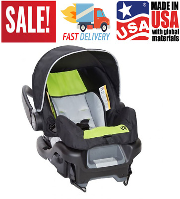 NEW-Baby Trend Ally 35 Newborn Infant Baby Rear Facing 5-Point Car Seat-Green