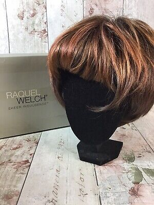 Raquel Welch Cover Girl Wig Brown With Highlights Boxed
