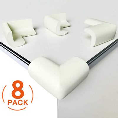 [8 Pack] Child Safety Corner Protectors, Canwn Soft Foam Baby Proofing Corner No