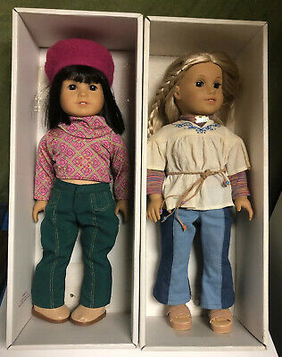 American Girl Julie & Ivy In Original Boxes With AG Clothing Plus Extras
