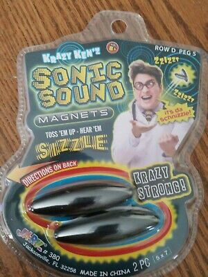 SIZZLERS TOY NOISE MAGNETS SONIC SOUND SIZZLER MAGNETS X 2 JARU C MY OTHER ITEMS