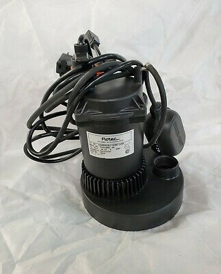 Flotec 1/3 HP Submersible Sump Pump Mo Del FPOS2400A Thermally Protected