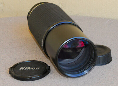 Nikon Nikkor 100-300mm F5.6 AIS Zoom Lens EXC+ condition for film + digital AI-S