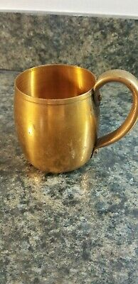 Vintage West Bend Aluminum Co. Solid Copper Moscow Mule Style Mug