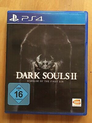 Dark Souls II: Scholar of the First Sin (Sony PlayStation 4, 2015) Top!!!