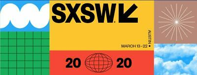 SXSW 2020 Film Badge Credential | Includes transfer fee! | SUPER FAST SHIPPING!