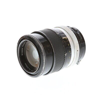 Nikon Nikkor 135mm F/2.8 Q Non AI NPK Manual Focus Lens {52} UG