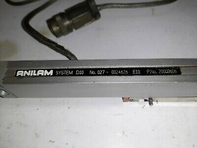 """Anilam / Acurite DRO D10 Scale 6"""" Travel Z axis"""