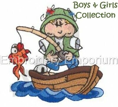 Boys & Girls Collection - Machine Embroidery Designs On Cd Or Usb
