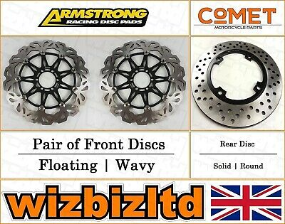 Armstrong And Comet Komplett Bremsscheibe Set Ducati 748 Biposto 1995-98