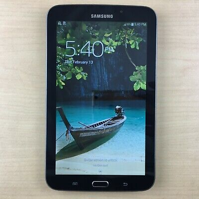 Samsung Galaxy Tab 3 SM-T217T 16GB, Wi-Fi + 4G (T-Mobile), 7in - Midnight Black
