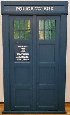 TARDIS video / vhs / paperback cabinet [Doctor Who collectible]