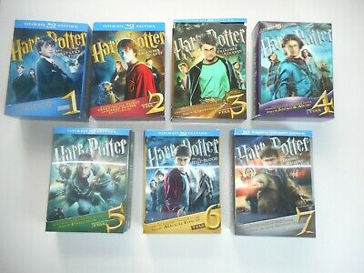 COMPLETE Harry Potter Ultimate Edition Blu-ray Collection Years 1 - 7
