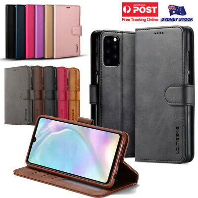 Samsung Galaxy S20 Ultra S20+ S20 5G Plus Premium Leather Wallet Flip Case Cover