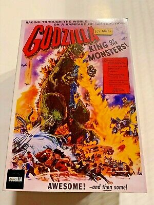 NECA GODZILLA KING OF THE MONSTERS 1956 Movie Poster Figure - NEW