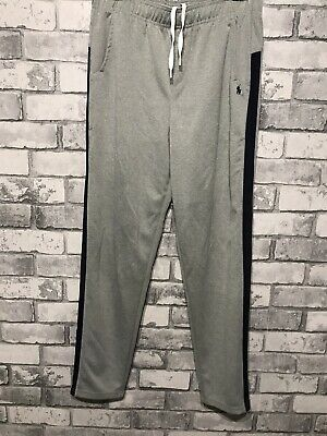 Polo Ralph Lauren Womens Joggers Track Pants Trackies Lounge Grey XL UK 18-20