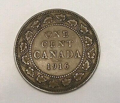 1916 Canada One Large Cent