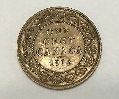 1915 Canada One Large Cent