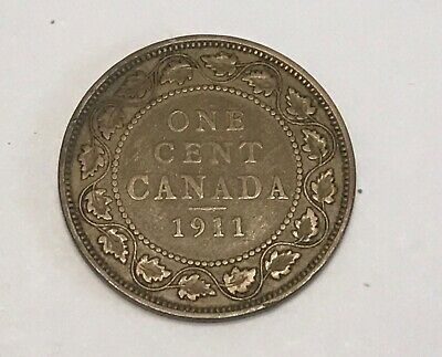 1911 Canada One Large Cent