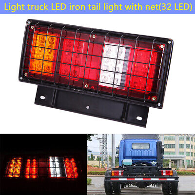 2X 12V 32LED Tail Lights Ute Trailer Caravan Truck Red Stop Reverse Indicator AU