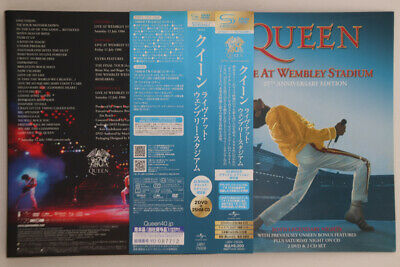 4CD QUEEN Live At Wembley Stadium UIBY75009 UNIVERSAL JAPAN PROMO