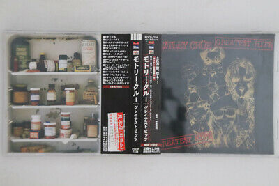 CD MOTLEY CRUE Greatest Hits POCP7334 MOTLEY JAPAN OBI PROMO