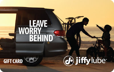 Jiffy Lube Gift Cards $100 (2 X $50)