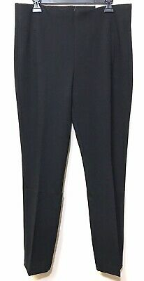 NWT CHICO'S $89 Black So Slimming JULIET Pull-On Straight Leg Pants Size 2 LARGE