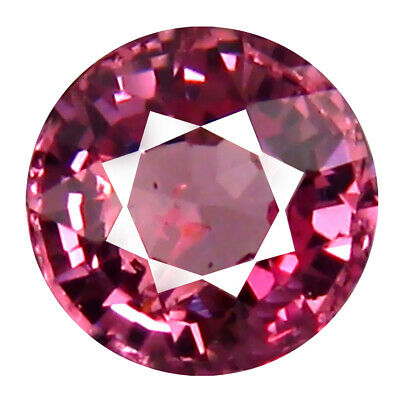 1.00 CT AAA + Remarquable Forme Ronde (6 X 6 mm) Rose Malaya Gemme Grenat